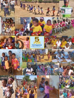 Fotocollage 5 jaar Happy Foundation